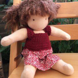 Handgemaakte zonnekindpoppen waldorf dolls